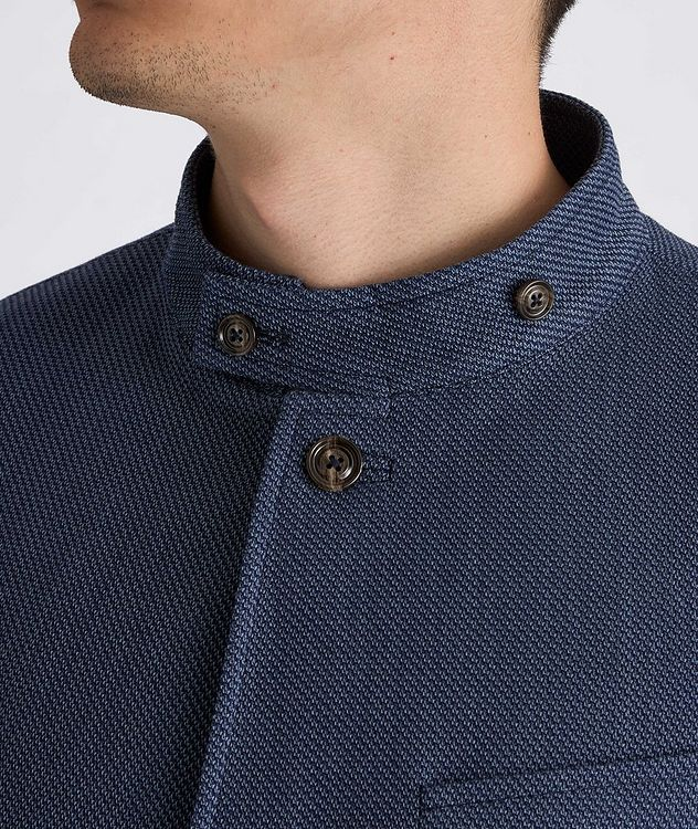 Hankook Slim-Fit Cotton-Wool Sports Jacket picture 4