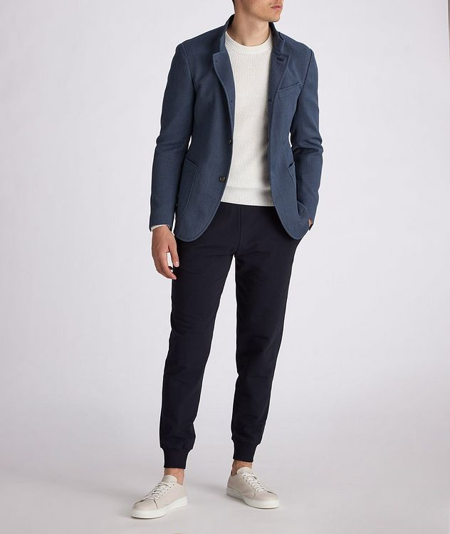 Hankook Slim-Fit Cotton-Wool Sports Jacket picture 5