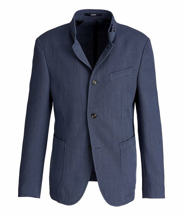 Hankook Slim-Fit Cotton-Wool Sports Jacket picture 1