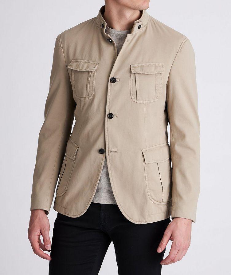 Hook Stretch-Cotton Jacket image 1