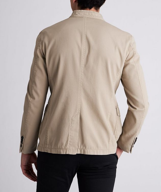 Hook Stretch-Cotton Jacket picture 3