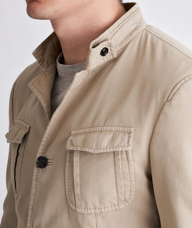 Hook Stretch-Cotton Jacket picture 4