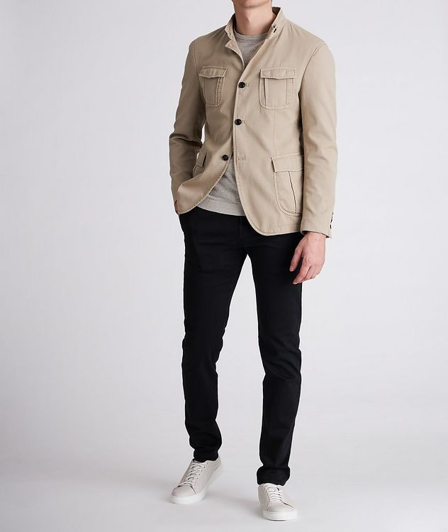 Hook Stretch-Cotton Jacket picture 5