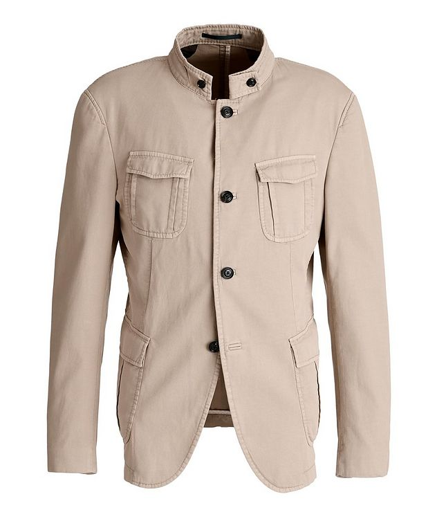 Hook Stretch-Cotton Jacket picture 1