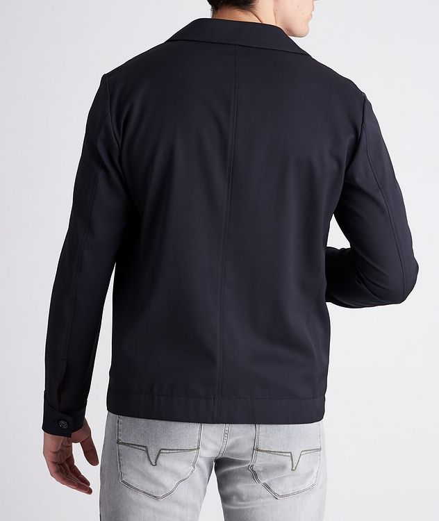 Hearts Slim-Fit Stretch Overshirt picture 3