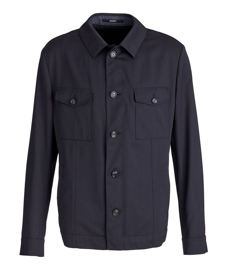 Hearts Slim-Fit Stretch Overshirt image 0