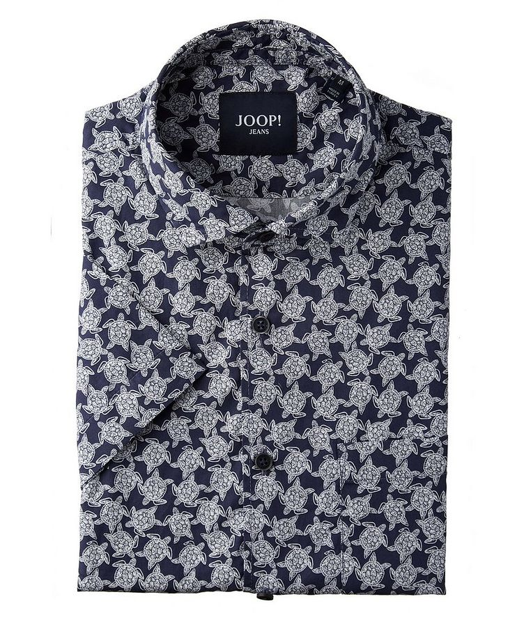 Hasko Short-Sleeve Cotton Shirt image 0