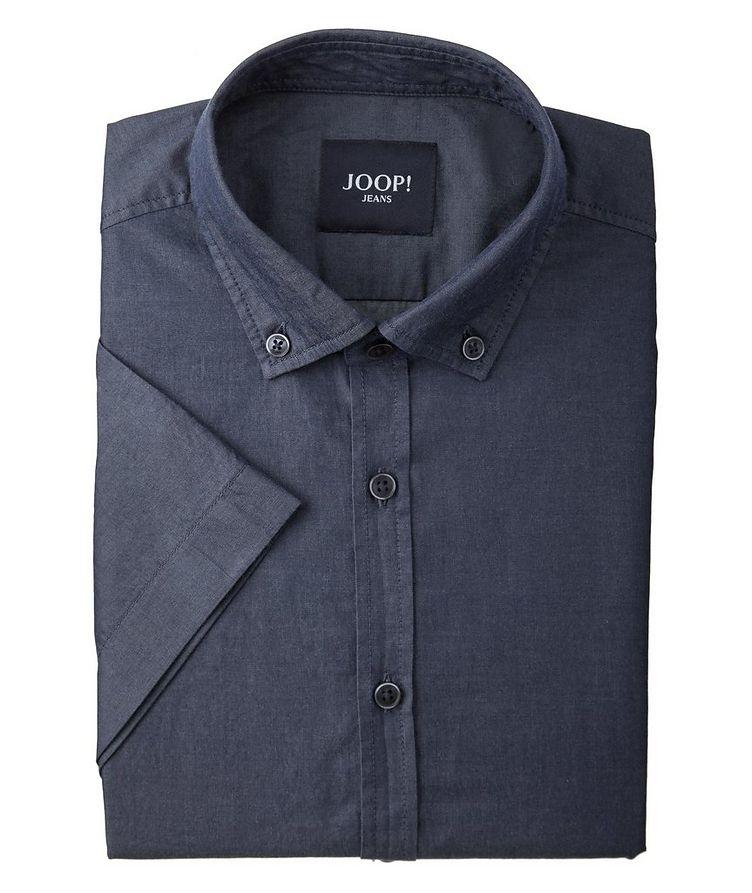 Chemise Heli en coton à manches courtes image 0