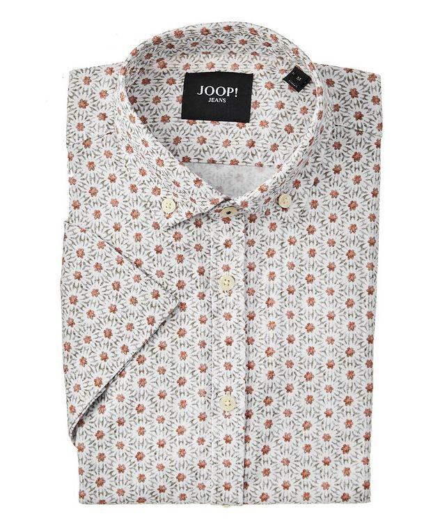 Heli Short-Sleeve Cotton-Linen Shirt picture 1