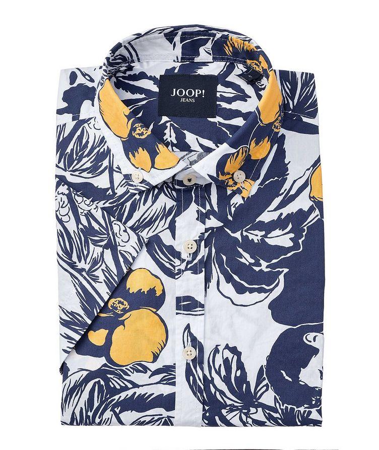 Heli Short-Sleeve Cotton Shirt image 0