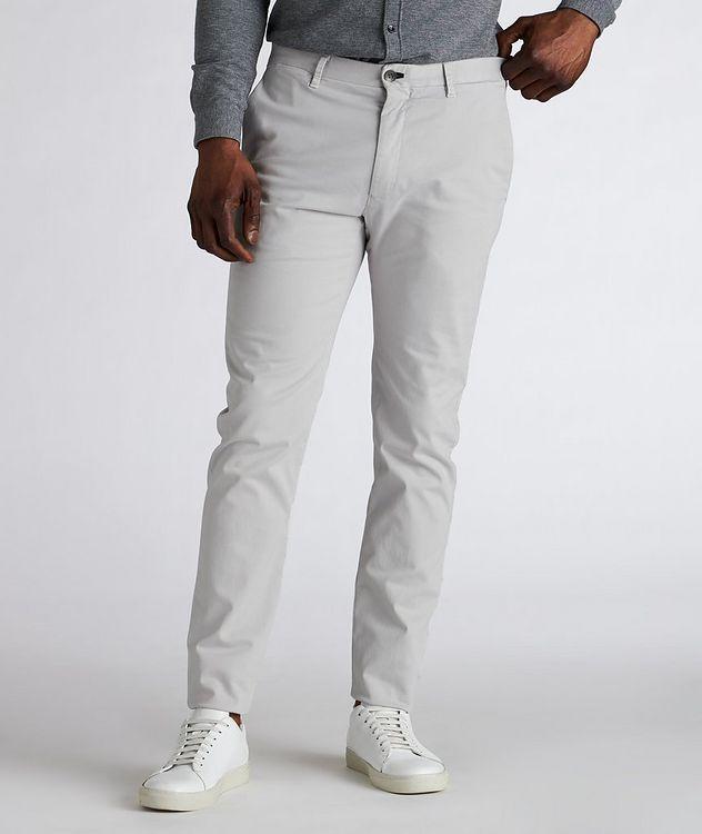Slim Fit Cotton-Blend Pants  picture 2