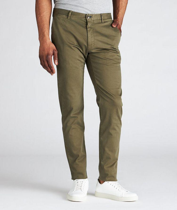 Slim Fit Cotton-Blend Pants  image 1