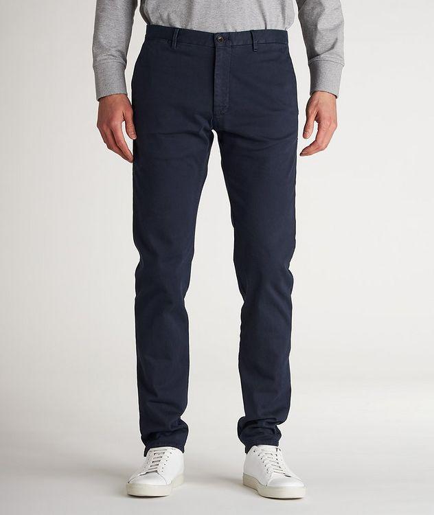 Slim Fit Cotton-Blend Sport Pants picture 2