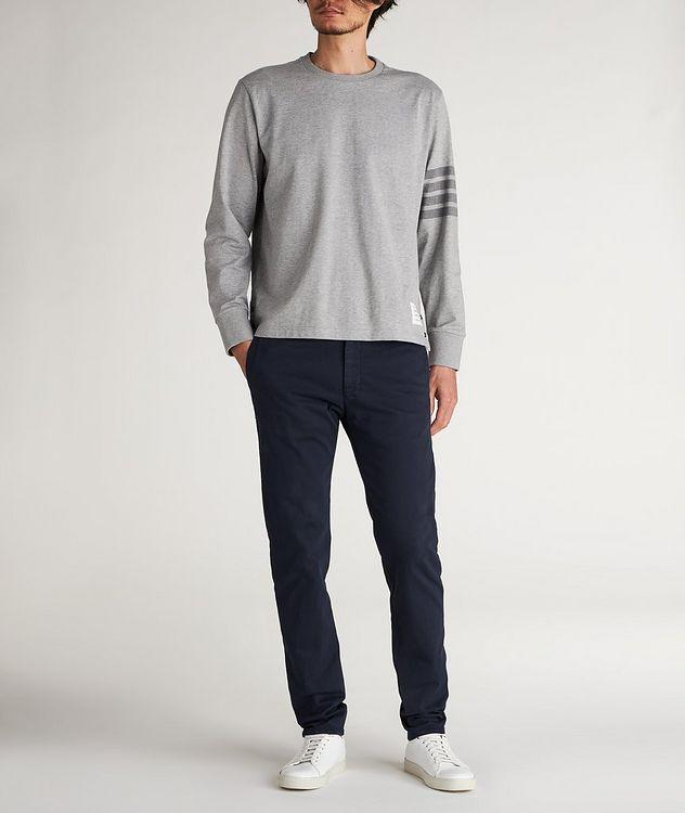 Slim Fit Cotton-Blend Sport Pants picture 4