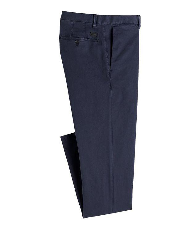 Slim Fit Cotton-Blend Sport Pants picture 1