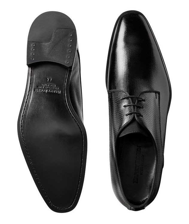 Embossed Patent Leather Derbies picture 3