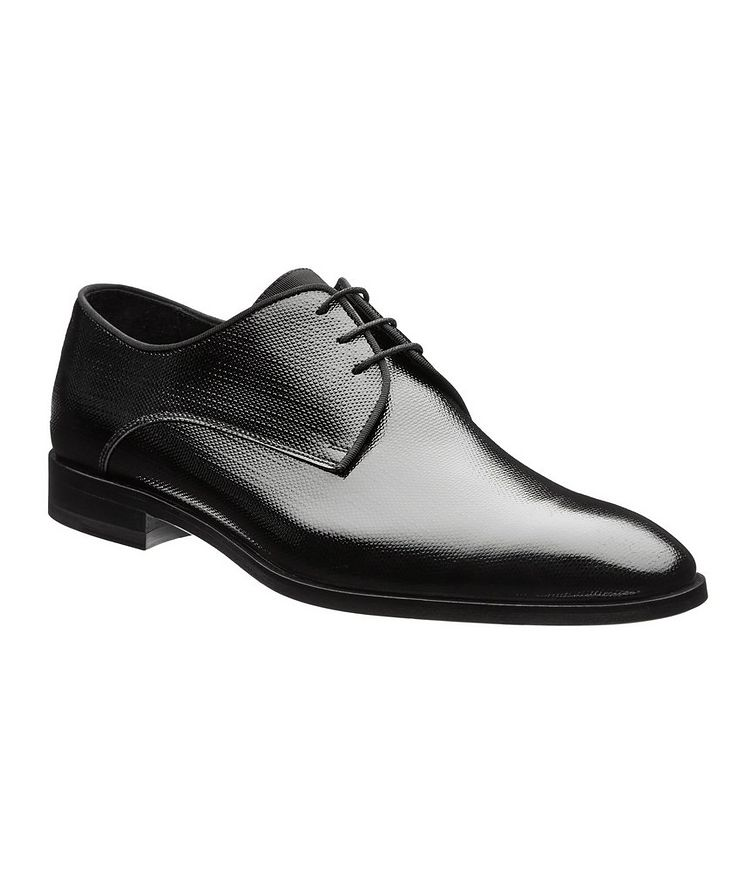 Embossed Patent Leather Derbies image 0