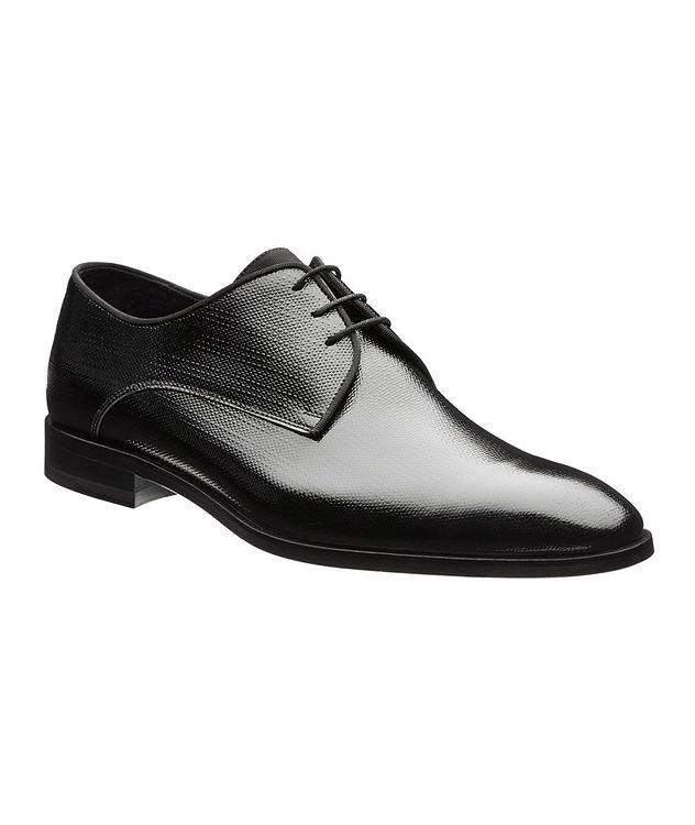 Embossed Patent Leather Derbies picture 1
