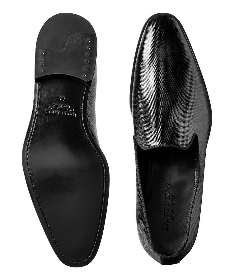 Embossed Patent Loafers image 2