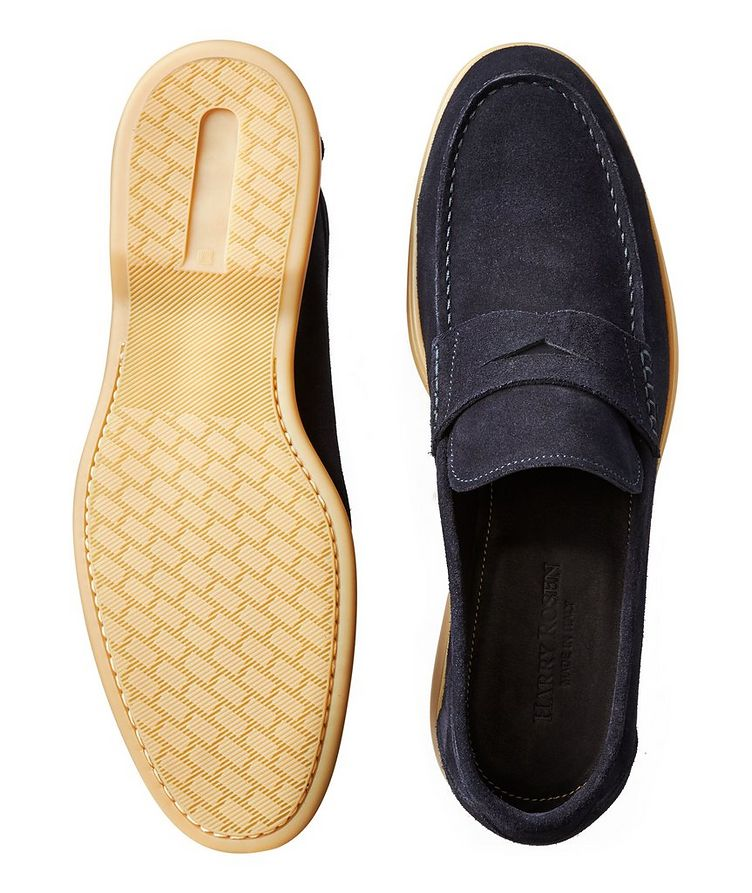 Suede Deerskin Loafers image 2