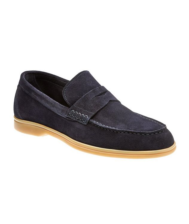 Suede Deerskin Loafers picture 1