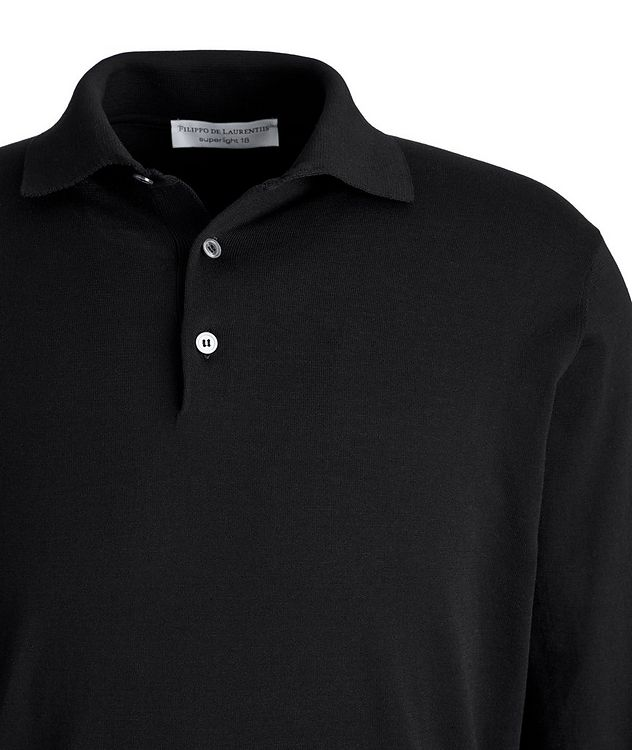 Superlight 18 Long-Sleeve Cotton Polo picture 2
