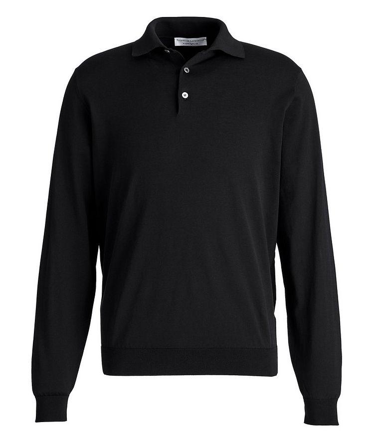 Superlight 18 Long-Sleeve Cotton Polo image 0