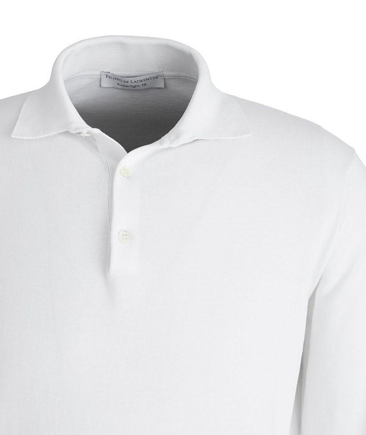 Polo en coton Superlight à manches longues image 1