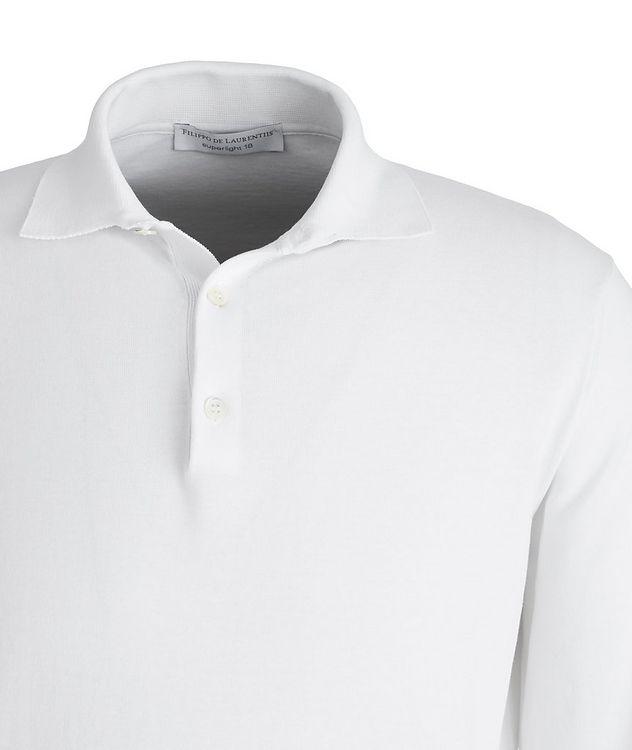 Polo en coton Superlight à manches longues picture 2