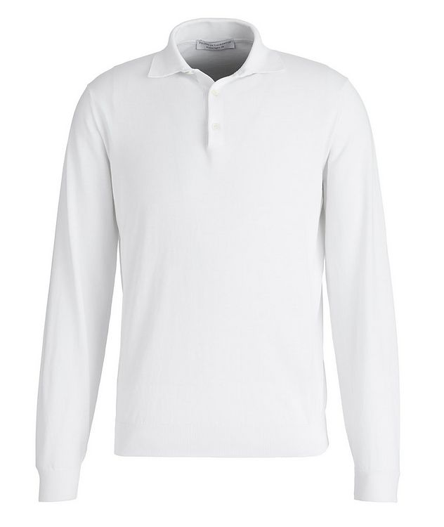 Superlight 18 Long-Sleeve Cotton Polo picture 1