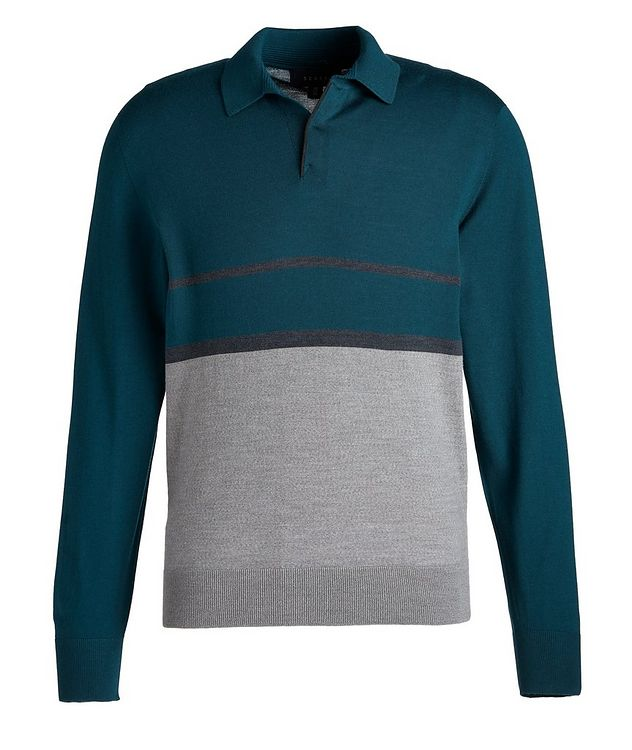 Lasca 2.0 Wool Polo Sweater picture 1