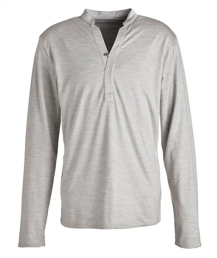 Reversible Jersey Cotton Shirt image 0