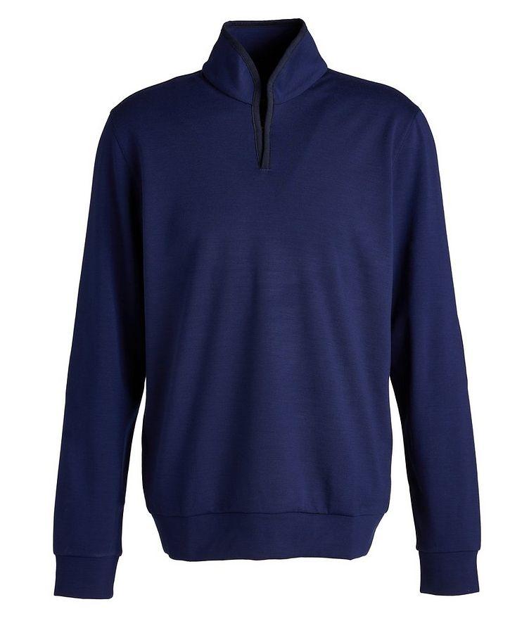 Ellen Wool-Blend Mock Neck Sweatshirt image 0