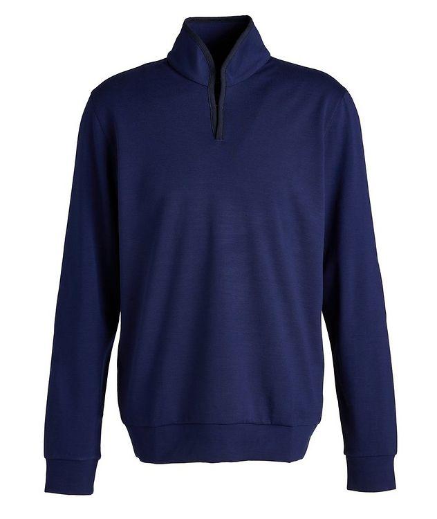 Ellen Wool-Blend Mock Neck Sweatshirt picture 1