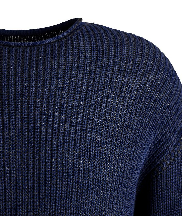 Ketch Reversible Cable Knit Sweater   image 1