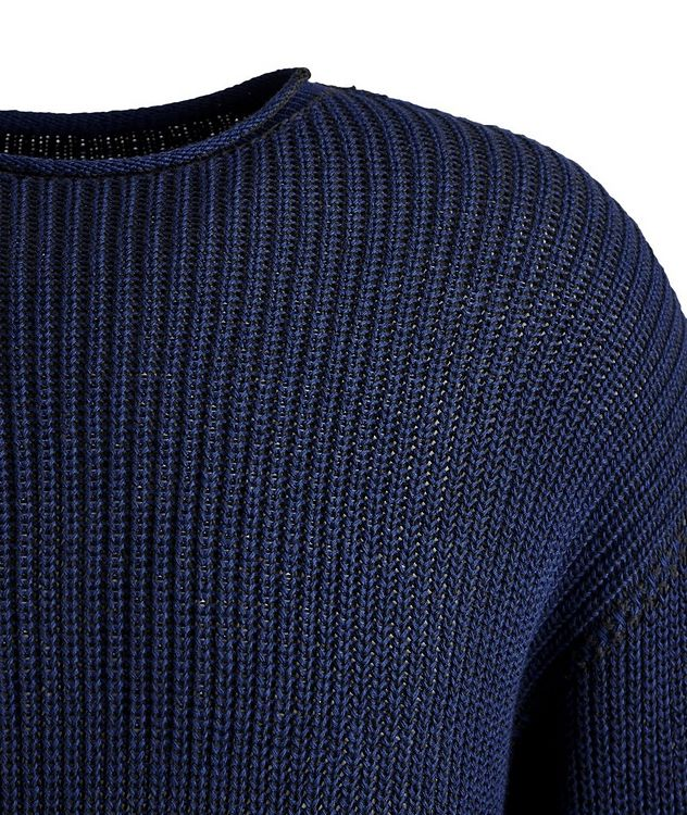 Ketch Reversible Cable Knit Sweater   picture 2