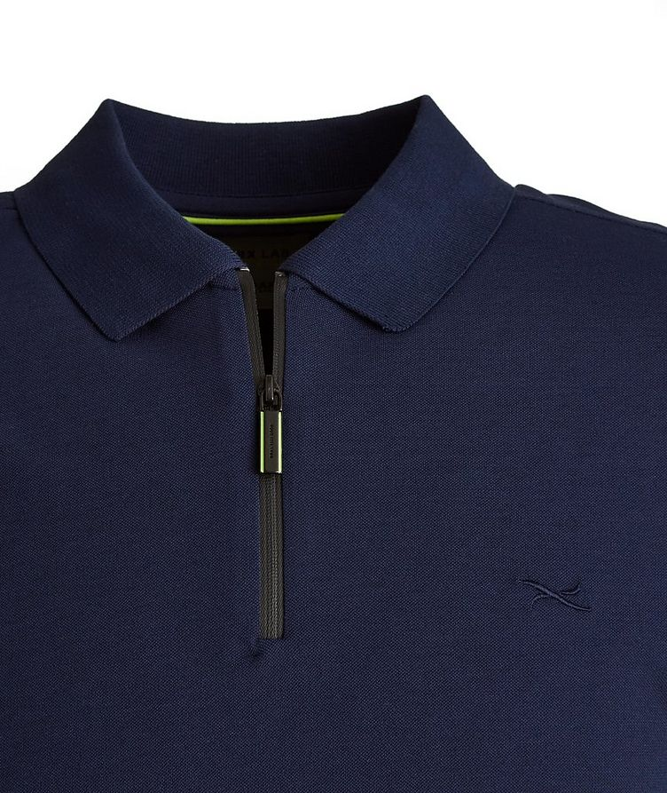 BRX LAB Percy Stretch Cotton-Blend Polo image 1