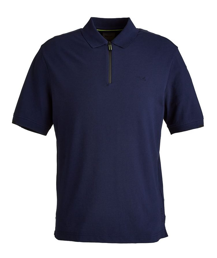 BRX LAB Percy Stretch Cotton-Blend Polo image 0