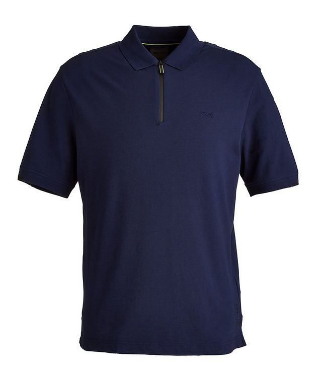 BRX LAB Percy Stretch Cotton-Blend Polo picture 1