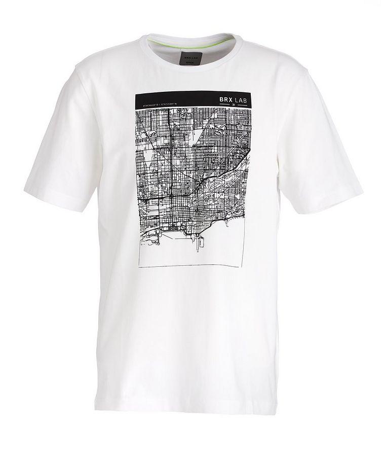 BRX LAB Taylor Stretch-Cotton T-Shirt image 0