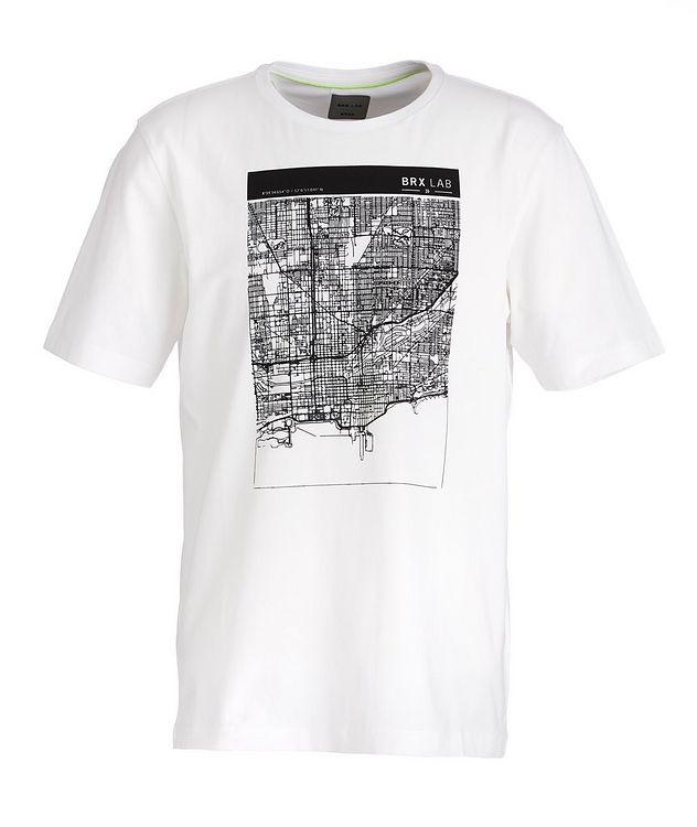 BRX LAB Taylor Stretch-Cotton T-Shirt picture 1