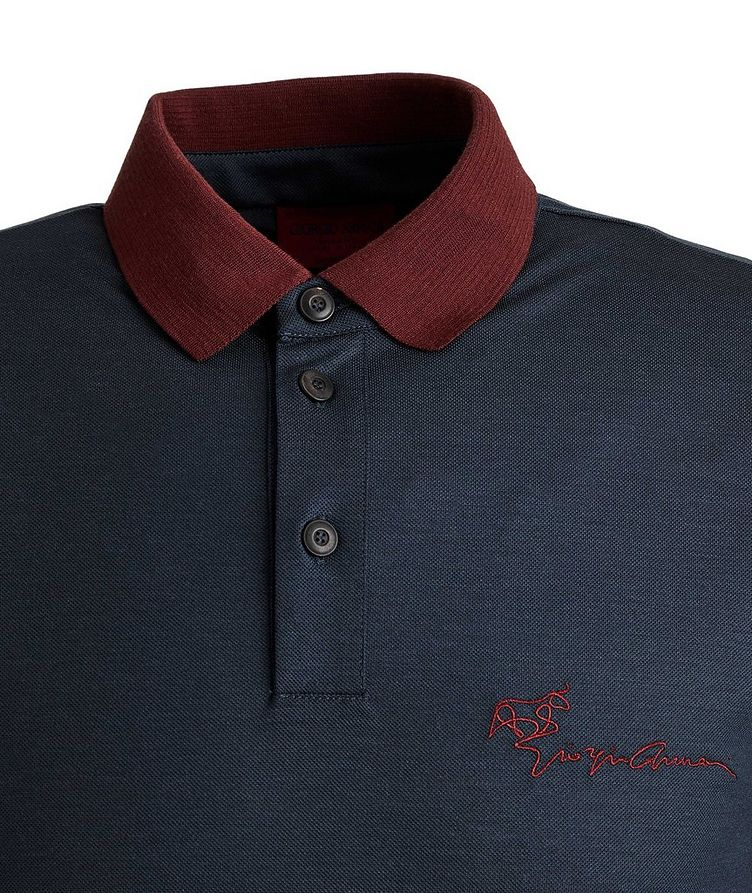 Limited Edition Piqué Virgin Wool Polo image 1