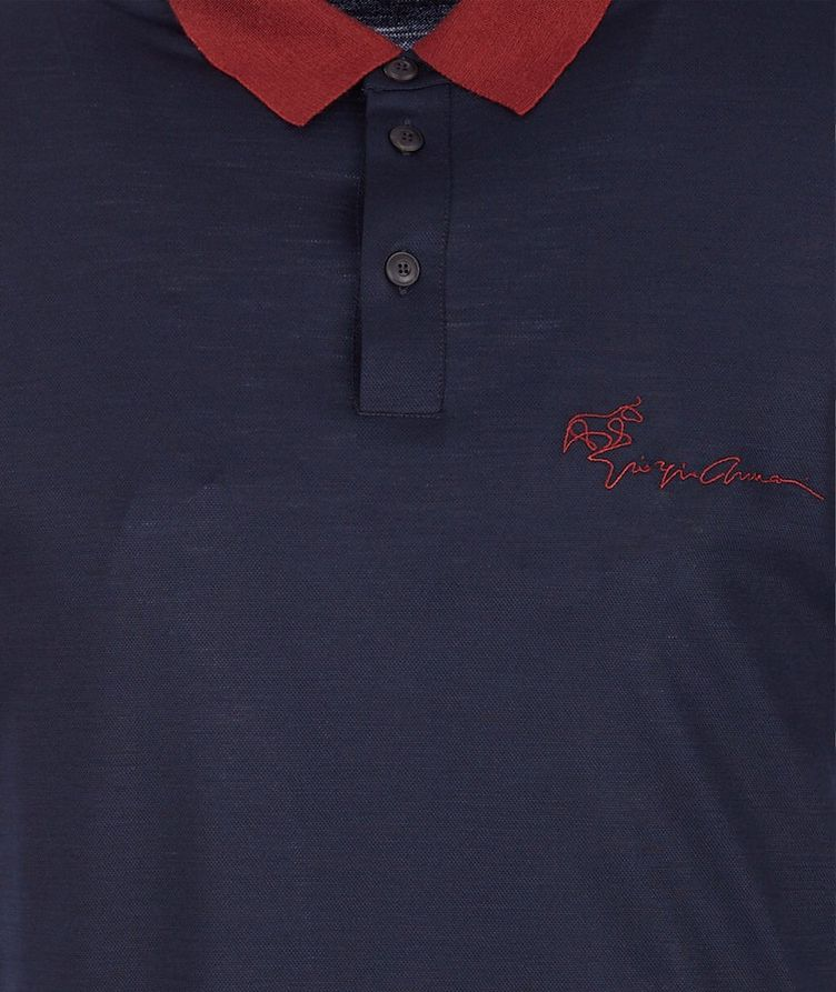 Limited Edition Piqué Virgin Wool Polo image 2
