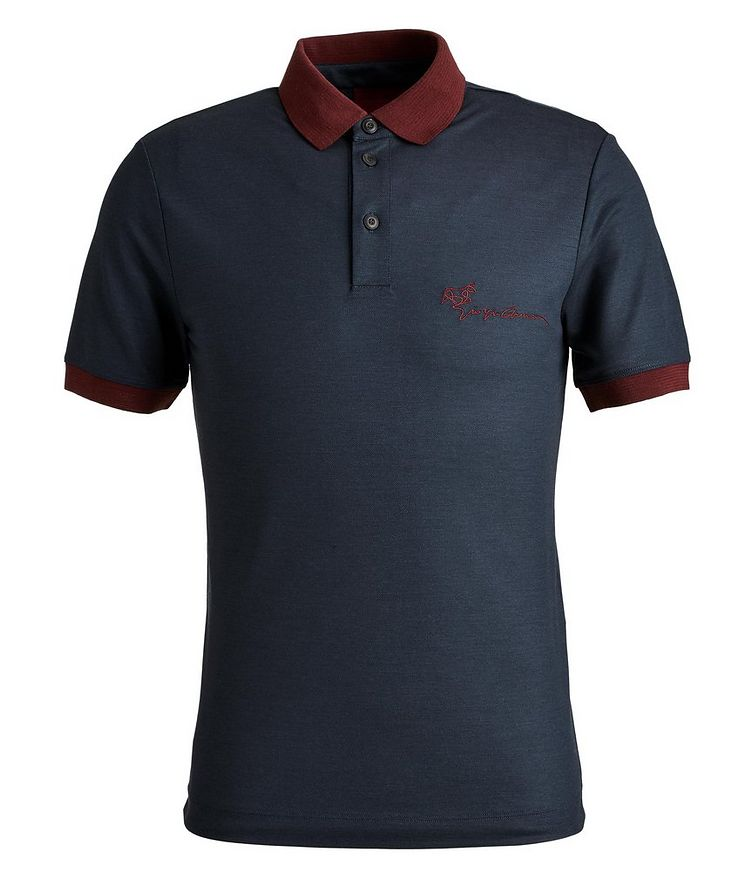Limited Edition Piqué Virgin Wool Polo image 0