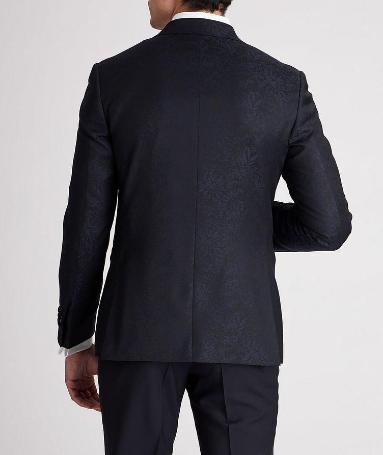 Botanical Peak Lapel Wool Tuxedo Jacket image 2