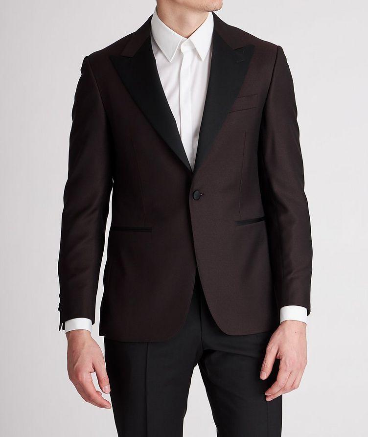 Peak Lapel Wool Tuxedo Jacket image 1