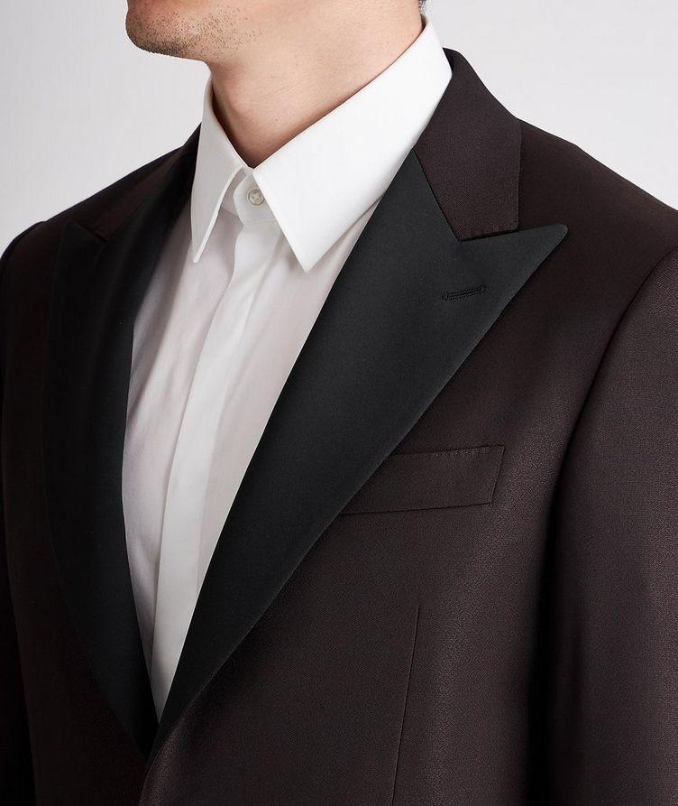 Peak Lapel Wool Tuxedo Jacket image 3