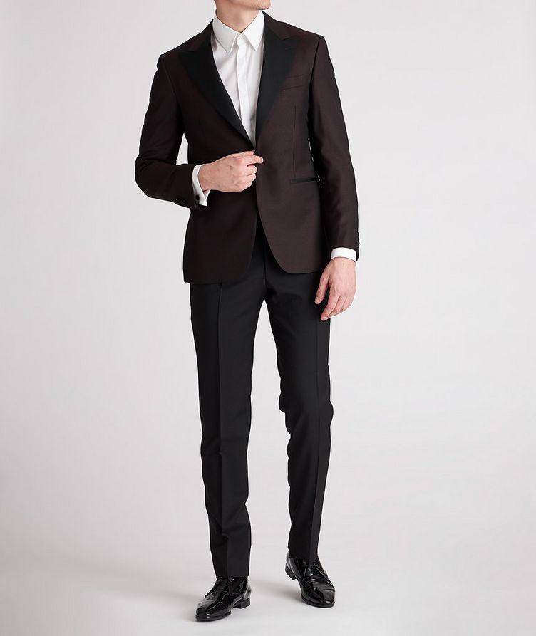 Peak Lapel Wool Tuxedo Jacket image 4