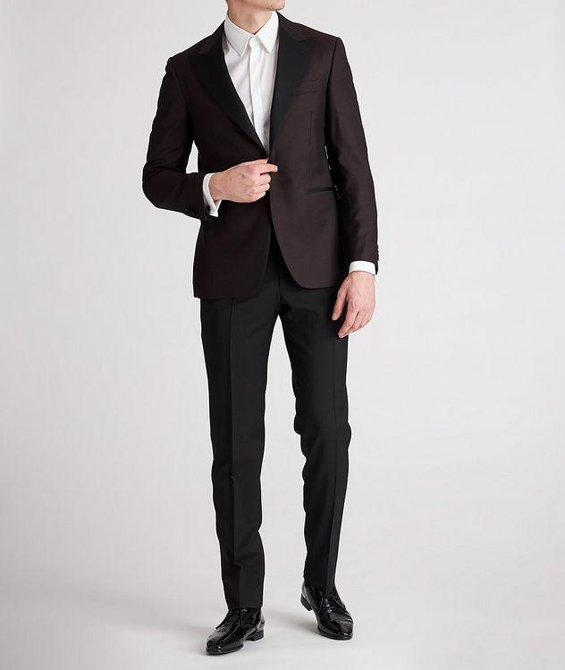 Peak Lapel Wool Tuxedo Jacket picture 5