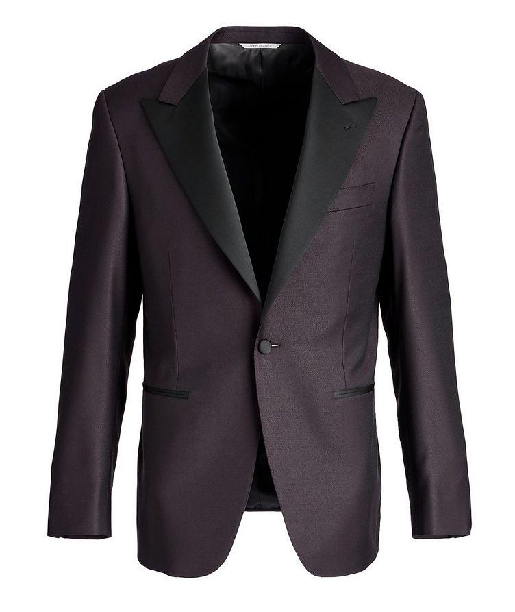 Peak Lapel Wool Tuxedo Jacket image 0